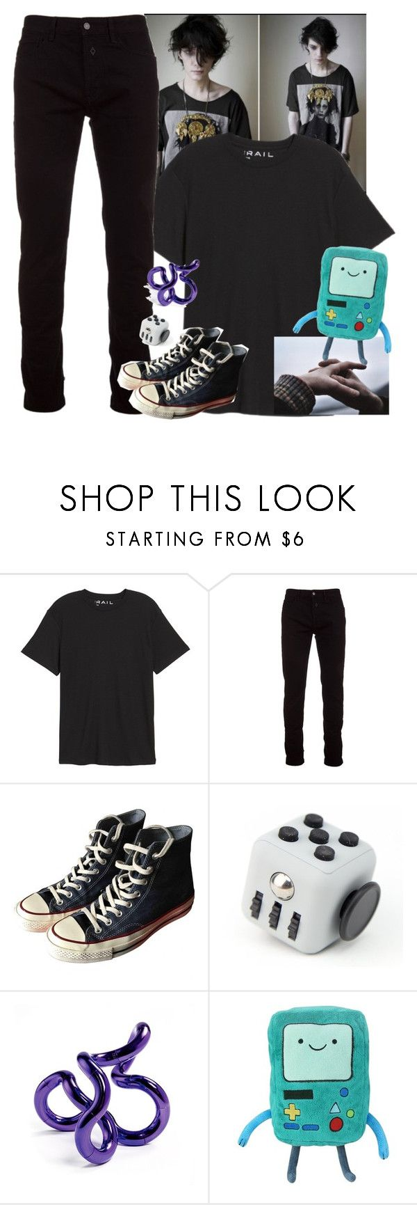 """they're gonna clean up your look, with all the lies in the book."" by coffeeshopgay ❤ liked on Polyvore featuring Public Opinion, Marcelo Burlon, Converse and bedroom"