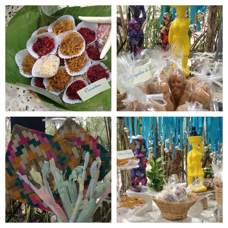 Palenqueras y dulces típicos