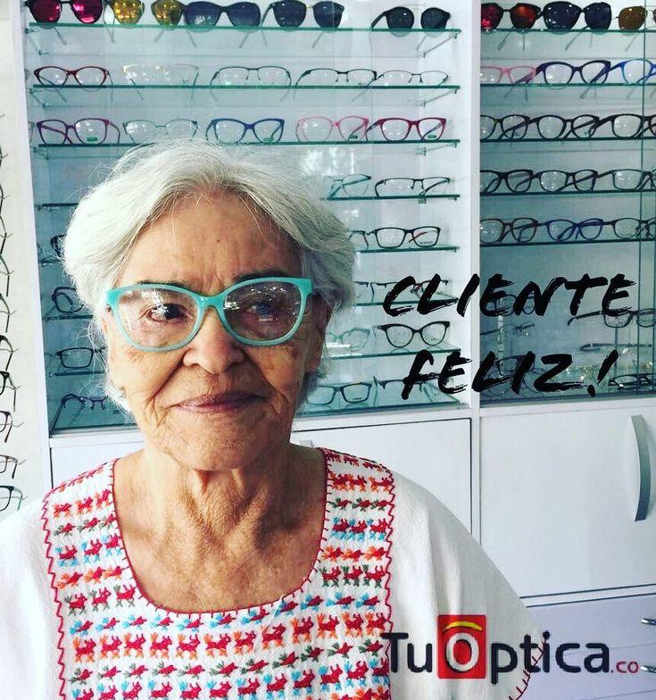 En @tuoptica_co  tenemos opciones para todos !  ella está feliz con sus nuevas gafas ! -Envíos gratis a todo el pais- puntos de venta barranquilla y valledupar #opticas #opticascolombia #gafas #lentes #monturas #moda