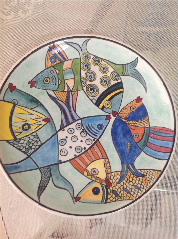 Balıklı tabağım