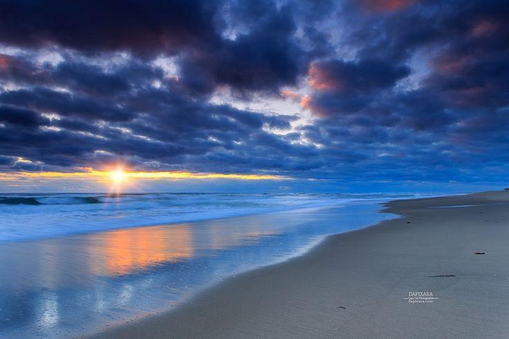 Whopping Ocean sunrise Today at Coast Guard beach - Cape Cod National Seashore. Dapixara Cape Cod photos at https://dapixara.com