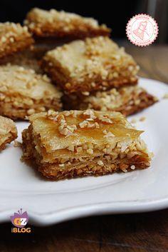 BAKLAVA dolce facile con miele e mandorle - ALLACCIATE IL GREMBIULE