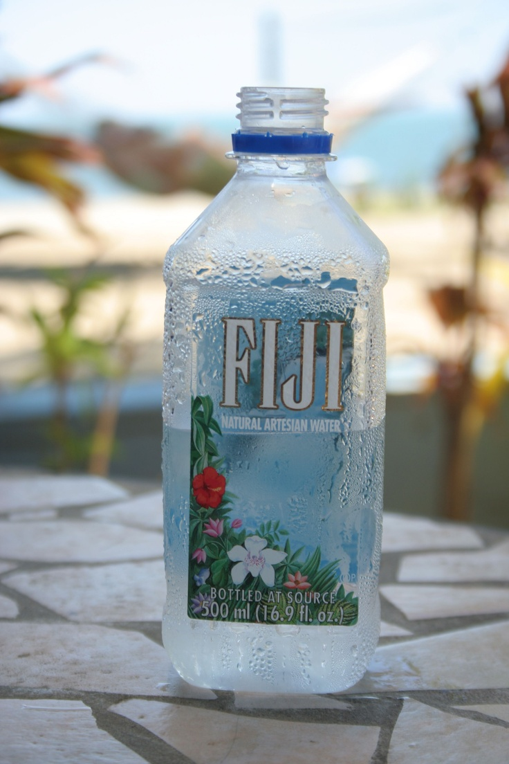 FIJI bottled water is the best! I am not a good water drinker but I have to agree!