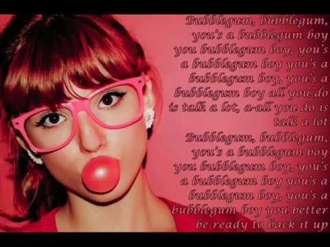 Bubblegum Boy--Bella Thorne & Pia Mia (Lyrics On Screen).  not a zumba video but a perfect song for one.  ps sorry to all my friends who've seen nothing but zumba videos in their feed.  sorry guys!