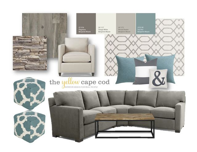 Best 20 living room turquoise ideas on pinterest blue - Grey and blue living room furniture ...