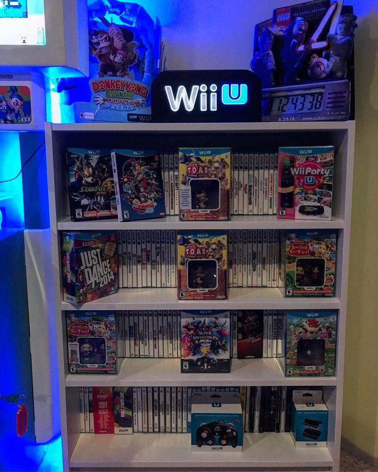 Huge shoutout to @goncz6177 for the Wii U header looks awesome on my Wii U collection shelf just need to get a wall power cord so I don't have to use the supply in my kiosk. **************************************************** #igersnintendo #nintendolife #nintendo #nintendo64 #retrocollective #n64 #zelda #nintendoswitch #nes #ilovenintendo #mario #retrogamer #retrocollector #gamecollection #playstation #pokemon #gamecube #gameroom #retrogaming #hyrule…