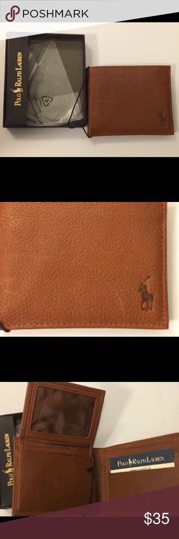Polo by Ralph Lauren Men's Leather Wallet Brown NWT Brown leather wallet. Polo by Ralph Lauren. Polo by Ralph Lauren Bags Wallets