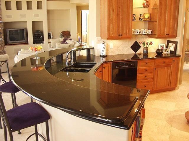 granite countertop style