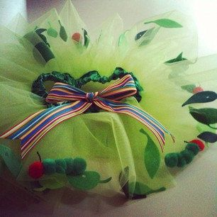 The Very Hungry Caterpillar Tutu by BecauseSheDanced on Etsy, $45.00