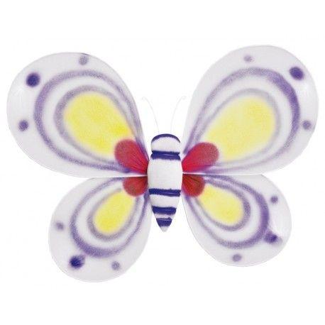 Ailes papillon blanc enfant 29 x 44 cm