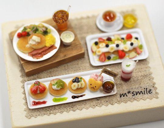 *池袋ミニチュア教室後半スタート* - *Nunu's HouseのミニチュアBlog* 1/12サイズのミニチュアの食べ物、雑貨などの制作blogです。