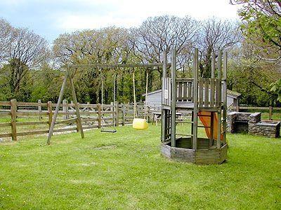 Children's play area | Byre Cottage, Fowey