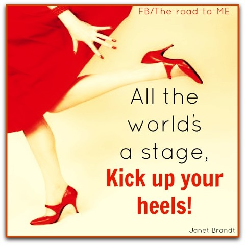 ... up those heels and have fun | Motivational Positive Quotes | Pin Positive Quotes About Work