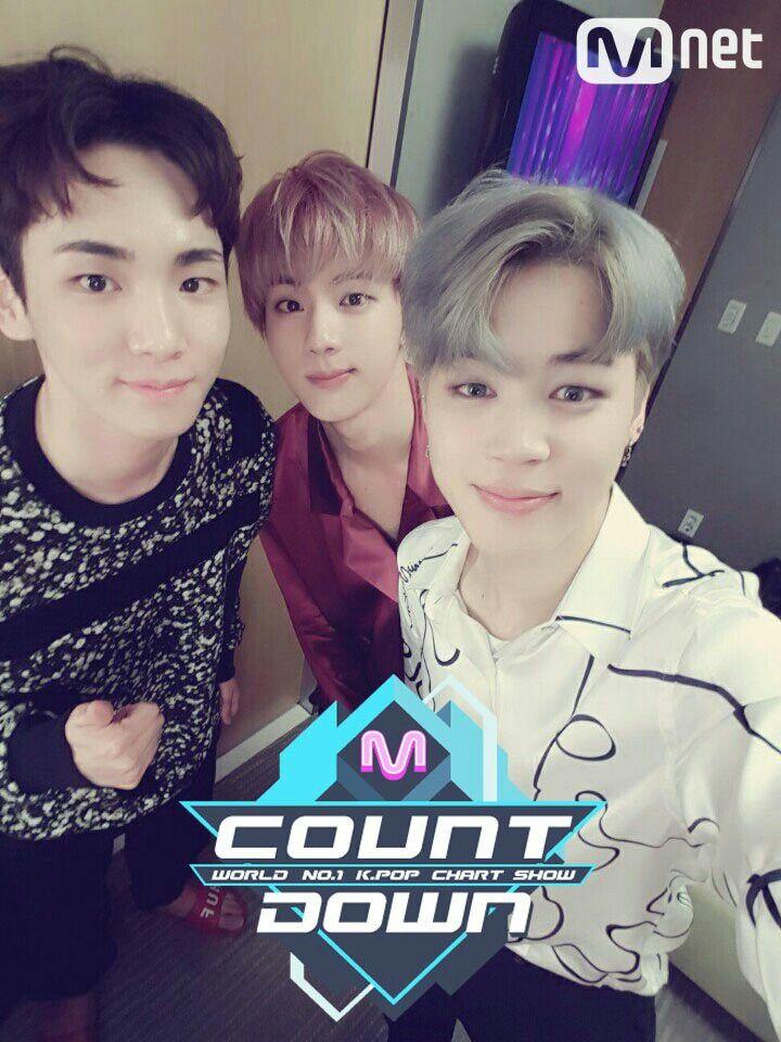 •161020 Jimin & Jin Special MC @ Mnet M!Countdown || #BTS #BloodSweatTears #Wings