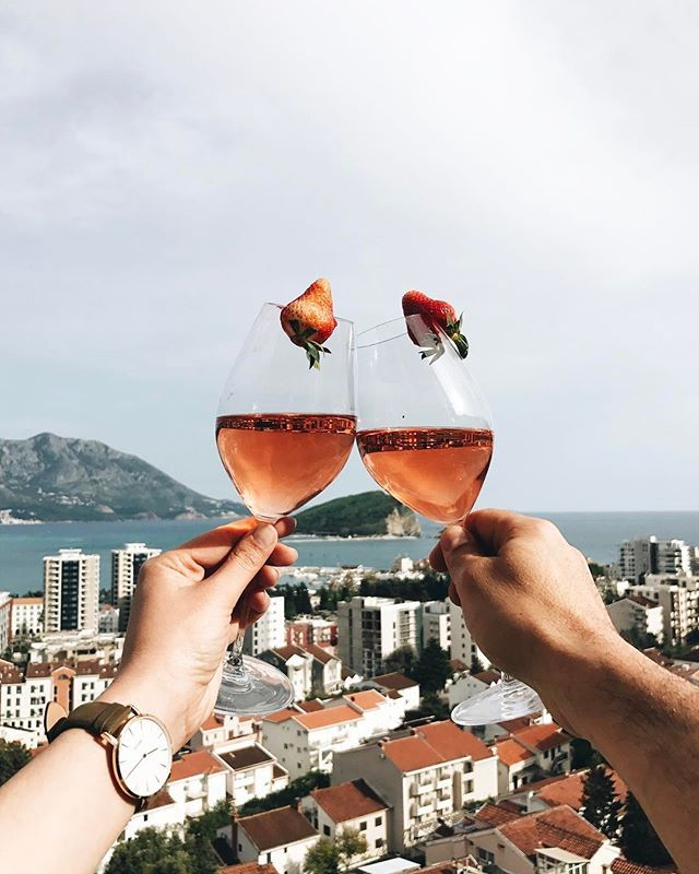 "#vscocam Budva na dlanu ❣️ GIVEAWAY  you can win these beautiful wine glasses from @riedelusa just tag your friend with who you would love to share glass of wine  right now I'm drinking ""Rose"" from @13.jul_plantaze  best wines for sure in Montenegro and beyond ❣️ good luck friends  #riedel #cluse #visitmontenegro"
