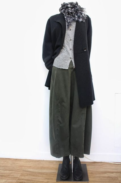 OSKA LONDON.  These are probably not available in plus size, but I love the schoolboy casual look. for fridays? that left bank paris look? could i get away with that? I bet if each element is expensive enough, you would totally get away with it.