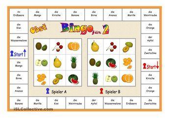 Spielregeln Bingo Schule