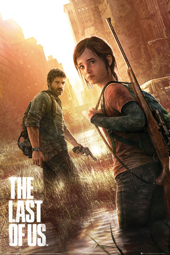 The Last of Us Key Art - Official Poster. Official Merchandise. Size: 61cm x 91.5cm. FREE SHIPPING