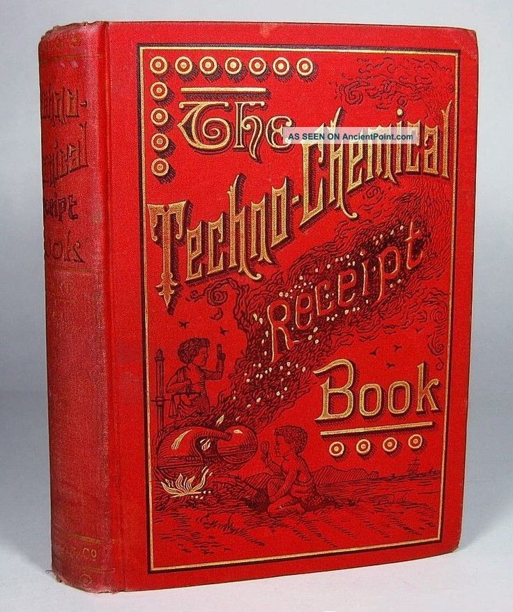 Victorian Chemical Cookbook Gunpowder Fireworks Explosives Tobacco Beer Candy Other photo
