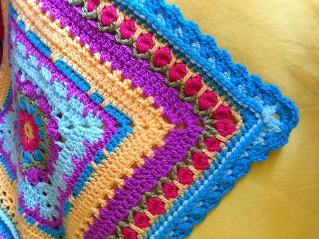 Crochet Stitch Quad Tr : crochet borders crochet blocks blanket crochet crochet edgings crochet ...
