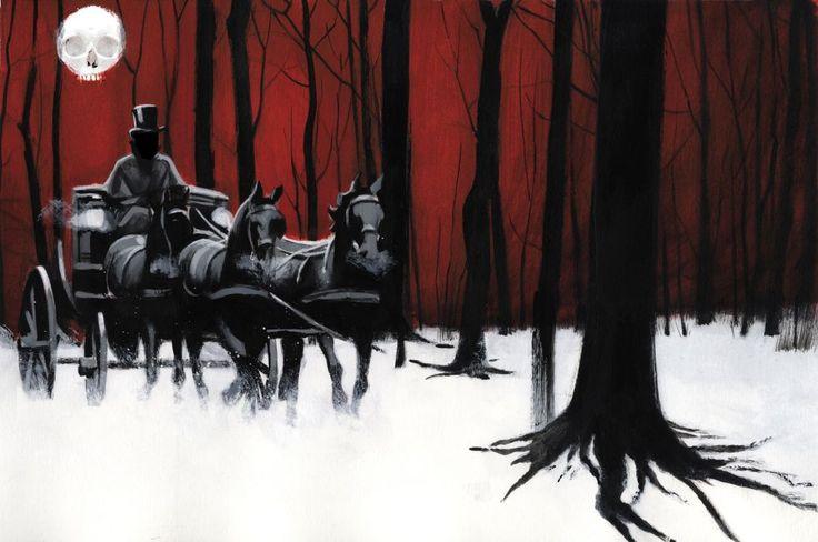 Fernando Vicente interpreta con sus dibujos el clásico de la literatura fantástica de Bram Stoker