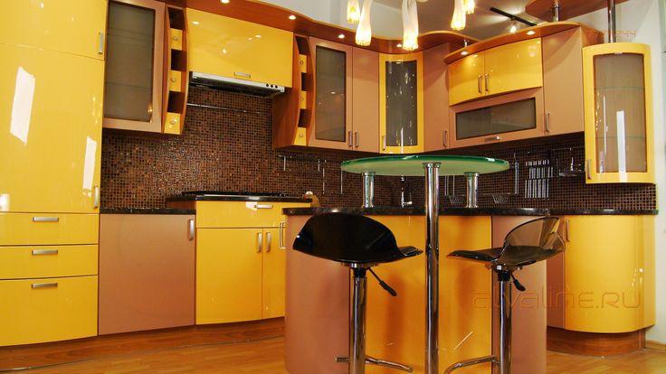 Любые сочетания цветов, покрытий и материалов на одной кухне. ALVA - идеальный инструмент для любого профессионального дизайнера интерьера!