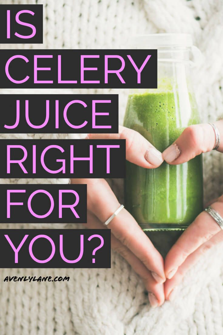 Has drinking celery juice helped heal my POTS Syndrome?
