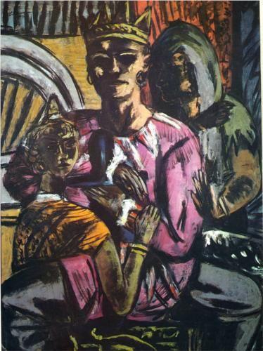 Max Beckmann, The King, 1934-1937