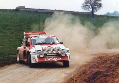 MG Metro 6R4 rally car - Group B