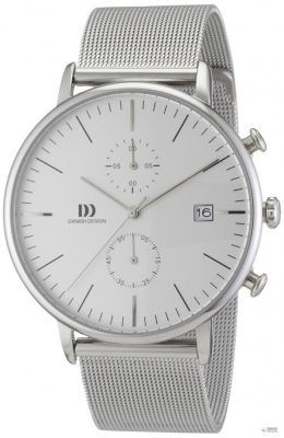 Danish Design férfi Quartz óra karóra 3314402 val fém szíj 12165eddfc