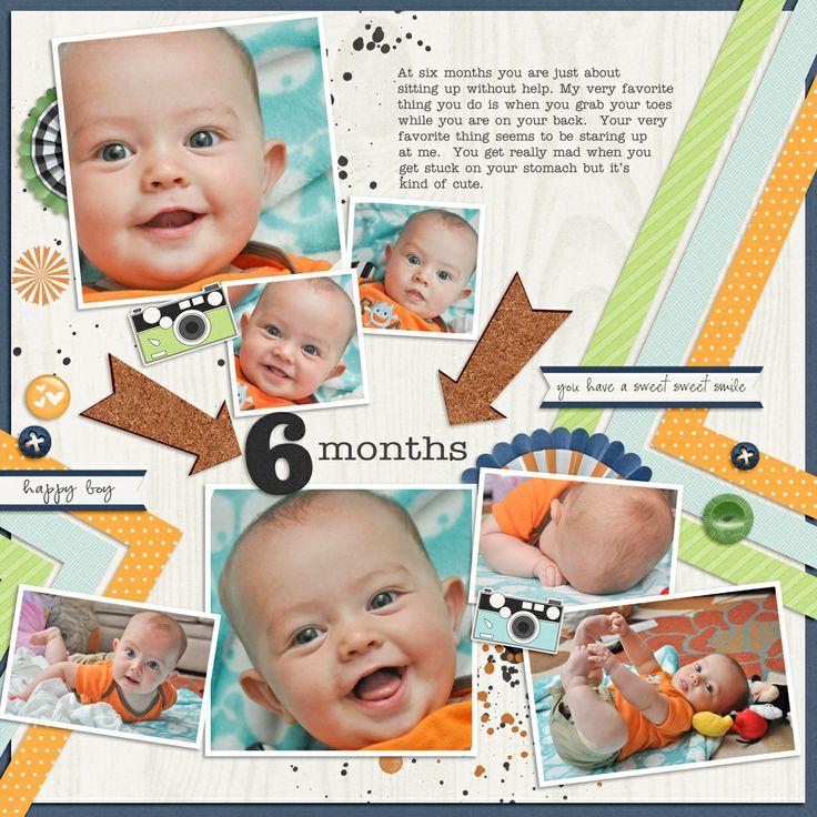 344 Best Scrapbooking Baby Images On Pinterest Scrapbooking