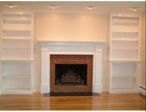 103 best bookcases images on Pinterest | Bookcases, Fireplace ...