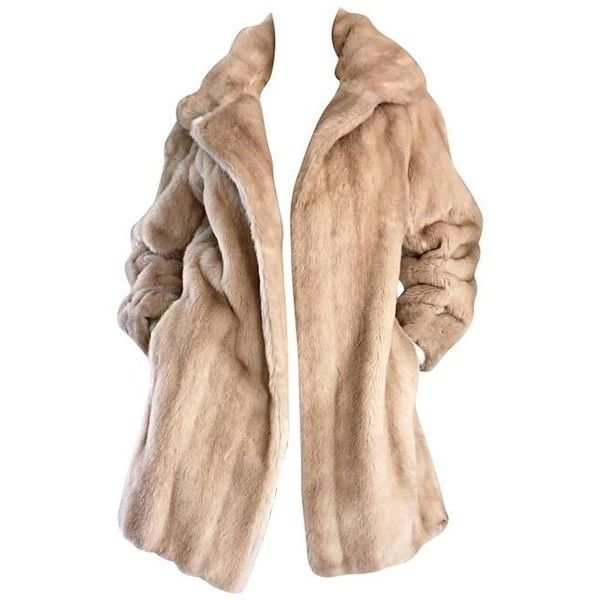 Preowned Incredible Vintage Lilli Ann 1960s Faux Fur Blonde Tan 60s... ($895) ❤ liked on Polyvore featuring outerwear, coats, jackets, tops, brown, brown coat, faux fur coats, tan faux fur coat, fake fur coats and lilli ann
