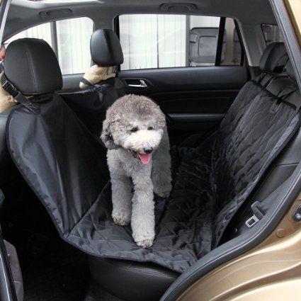 Hunde Autoschondecke, marsboy Autodecke Auto Sitz für Hunde Wasserdicht Schwarz: Amazon.de: Auto