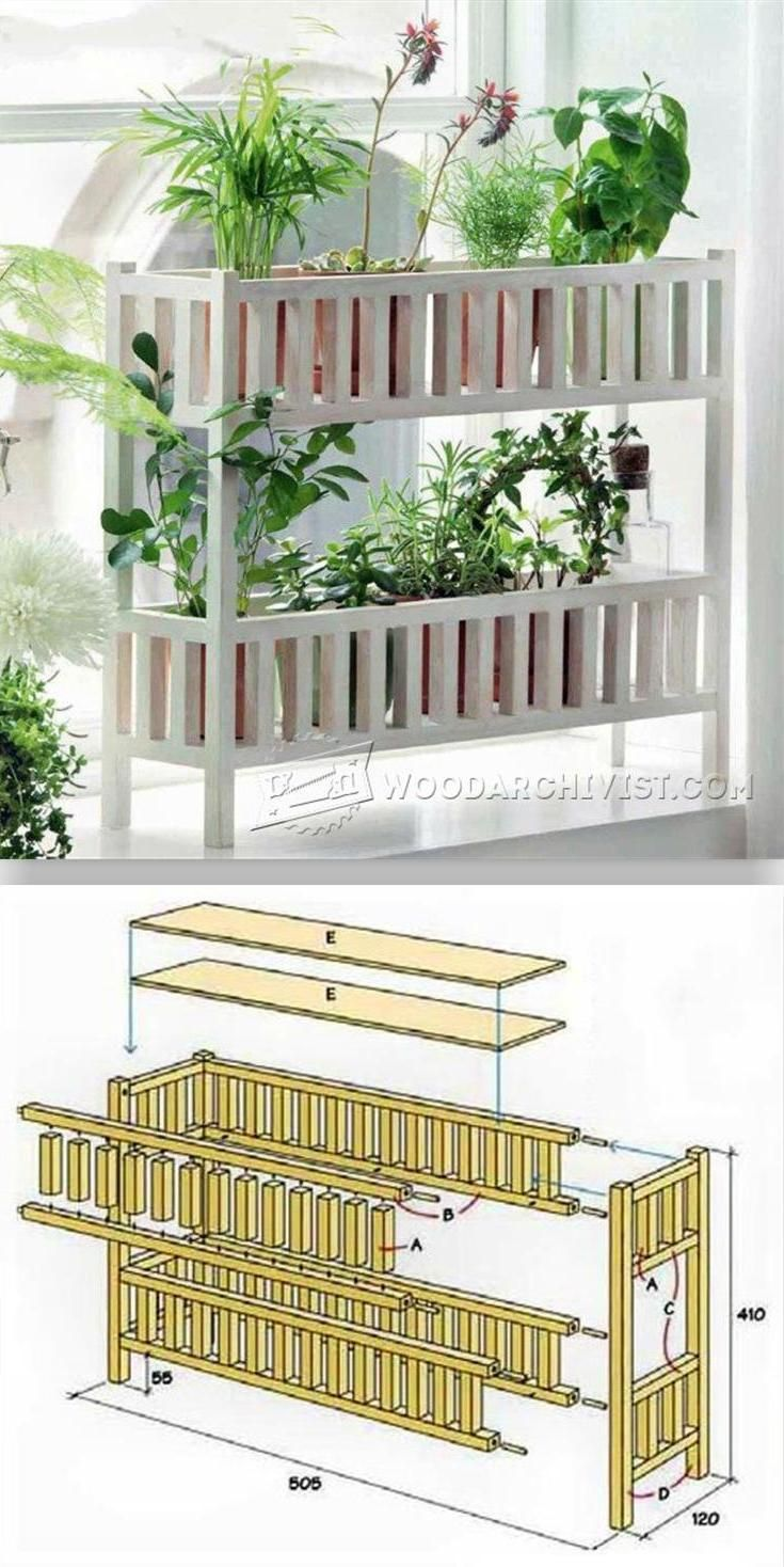 Indoor Planter Plans - Woodworking Plans and Projects | WoodArchivist.com