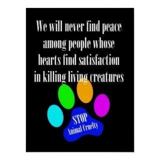 ANIMAL CRUELTY | Stop Animal Cruelty Poster