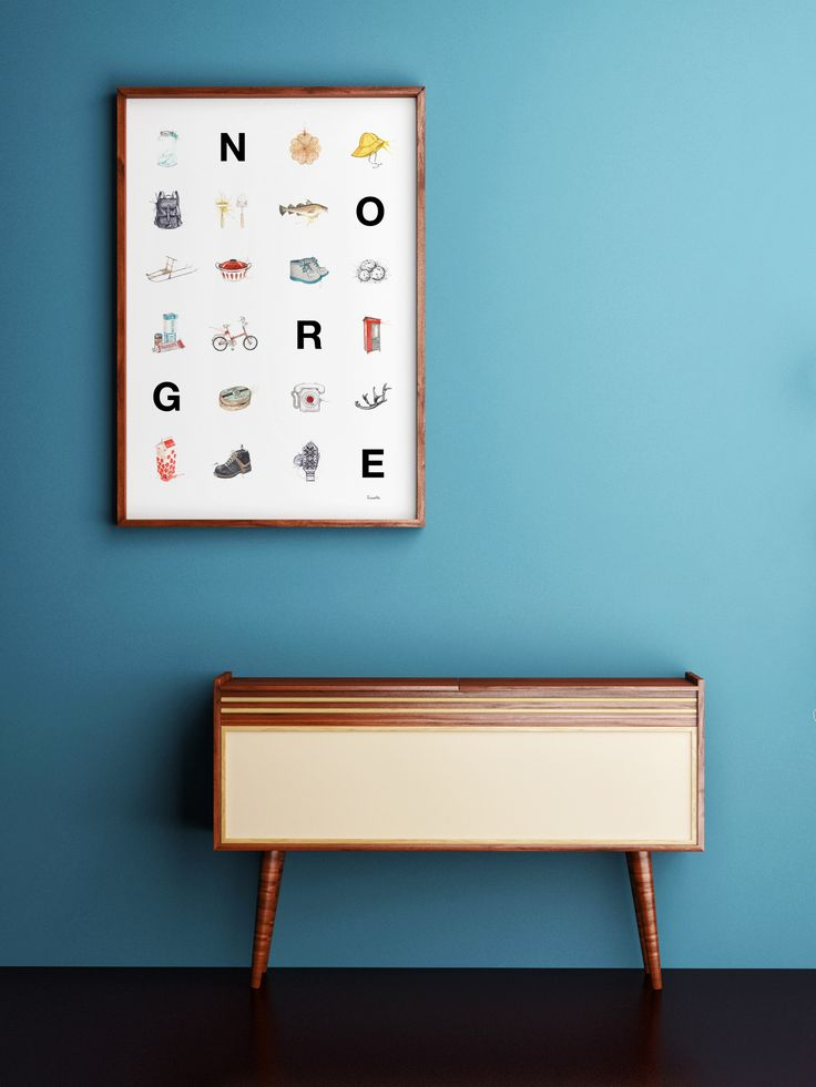"""Norge""     Norwegian brand by illustrator/artist Mona Stenseth Erlandsen.      www.emmeselle.no"
