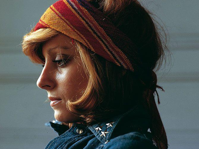 Jean-Marie Perier - Photographe - Véronique Sanson, Paris 1972