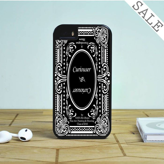 Alice in Wonderland Curiouser Curiouser For iPhone | Samsung Galaxy | HTC Case