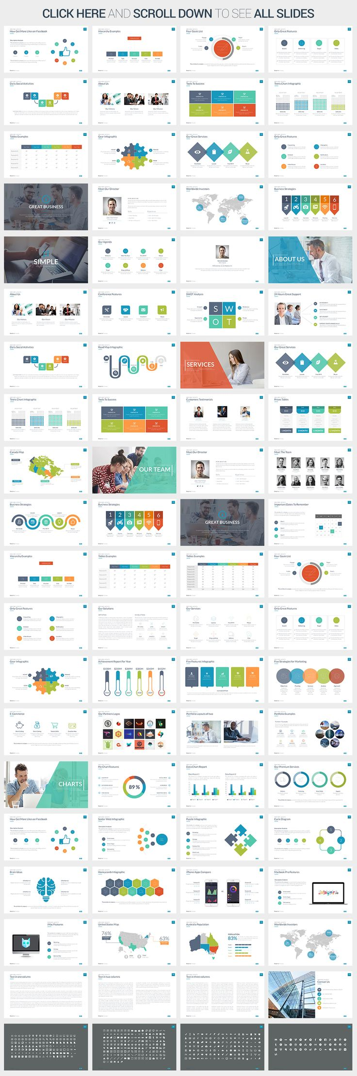 Simple Powerpoint Template by SlidePro on Creative Market