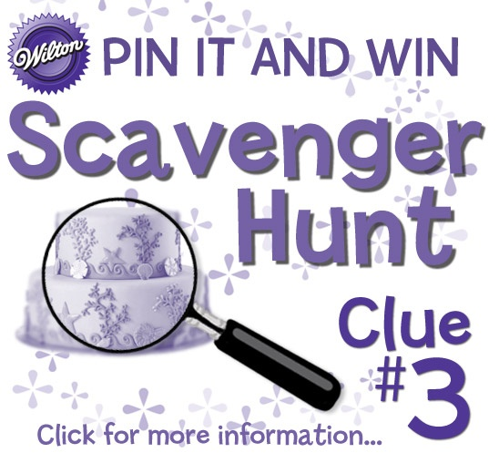 Take a glimpse at an underwater paradise! Find the entire cake image on our Pinterest page and repin it to your Wilton Scavenger Hunt board. Click here for clue 3  #wiltoncontest