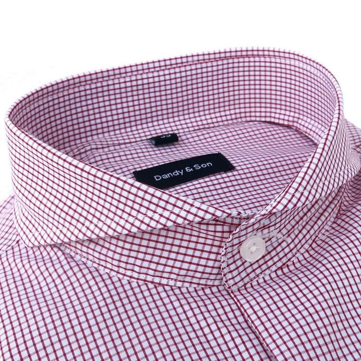 Extreme Cutaway Red Grid Shirt