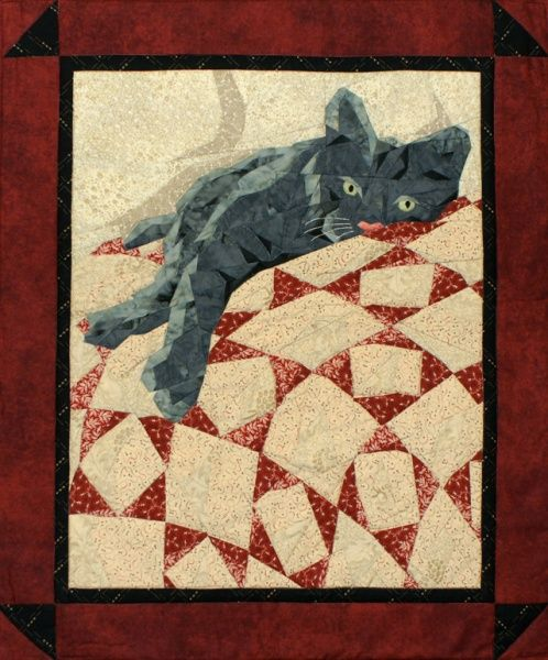 1910 best images about Cat Quilts on Pinterest Calico cats, Quilt and Kitty cats