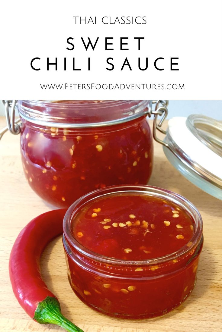 This Homemade Sweet Thai Chili Sauce has so much flavour. An exotic sauce that's sweet and spicy, a perfect dipping sauce and marinade.