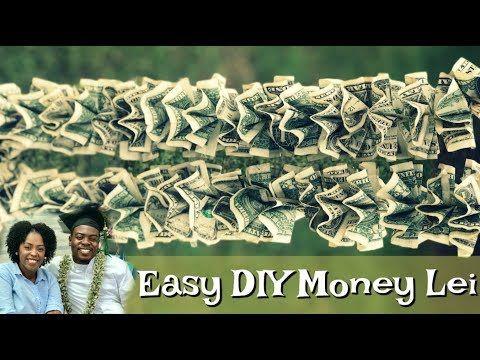 EASY DIY MONEY LEI FOR ANY CELEBRATION! – YouTube
