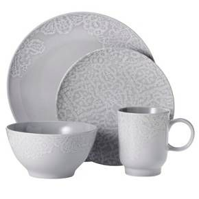 Threshold™ 16 Piece Dinnerware Set - Grey : Target