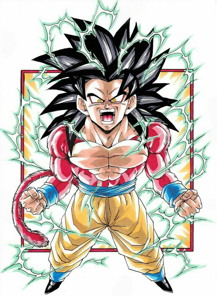 Goku Super Sayan 4