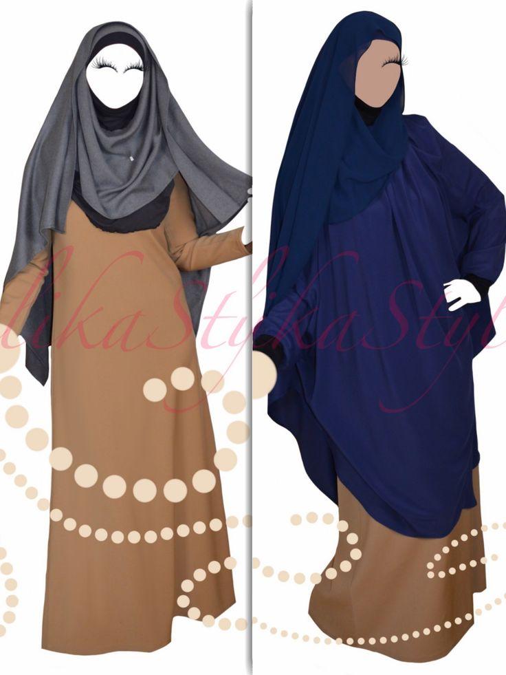 Презентую еще одну модельку от HelikaStyle!  Многим уже полюбились химары и хиджабы «Хелика». И здесь представляю новую вариацию похожего дизайна — накидку «Хелика» для…