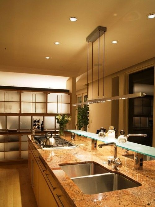 The 25 best led kitchen ceiling lights ideas on pinterest modern led kitchen ceiling lights aloadofball Gallery