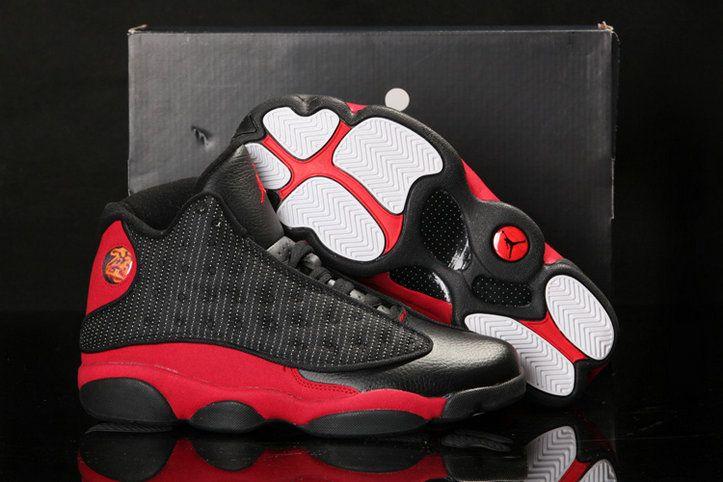 new product 8024b 04810 Legit Cheap Air Jordan 13 XIII Bred Black Varsity Red White 414571 010 Size  11.5